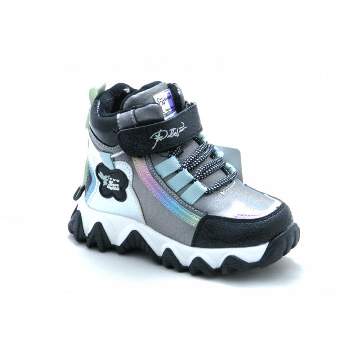 Купить зимние ботинки для девочек BESSKY 579-3