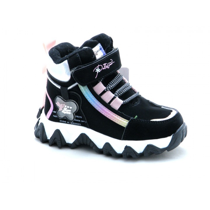 Купить зимние ботинки для девочек BESSKY 579-1