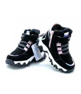 Зимові черевики для дівчинки BESSKY 579-1 (23-28р.)