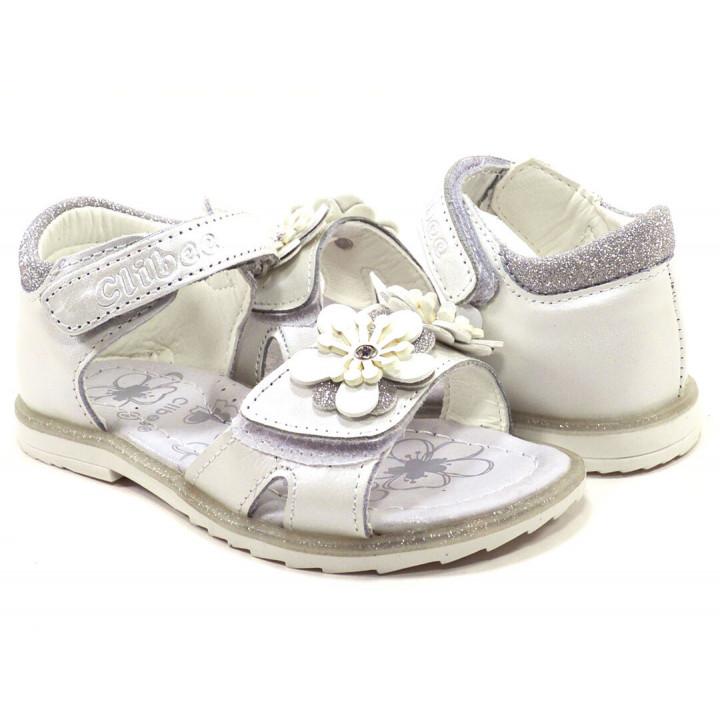 Купить босоножки детские для девочек CliBee AB-8 white