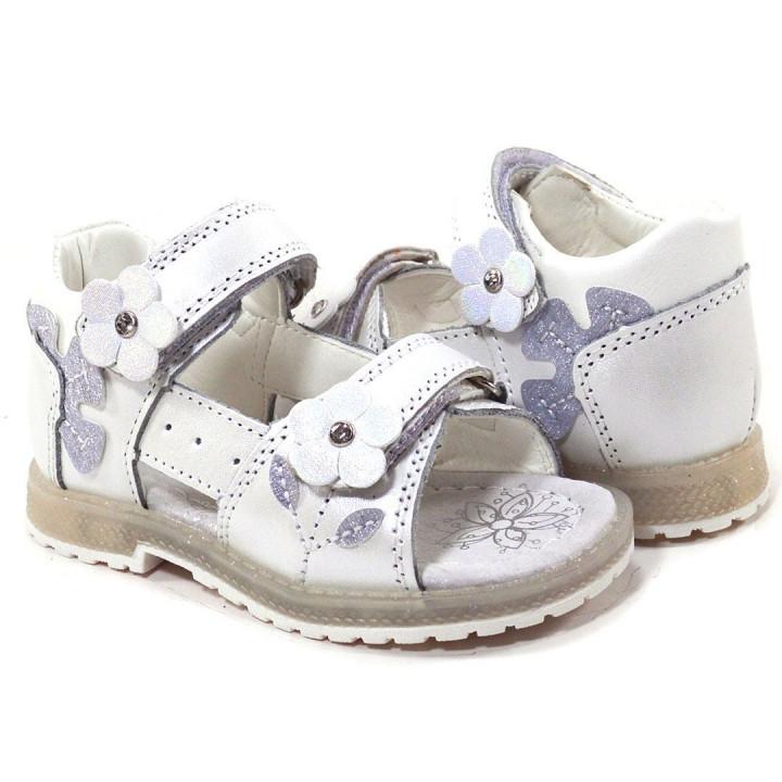Купить босоножки детские для девочек CliBee AB-20 white