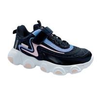 Кросівки для дівчинки CliBee E-61 black (31-36р.)