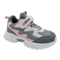 Кросівки для дівчинки CliBee E-67 grey  (26-31р.)