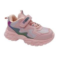 Кросівки для дівчинки CliBee E-67 pink  (26-31р.)