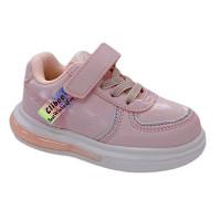 Кросівки для дівчинки CliBee E-82 pink  (21-26р.)