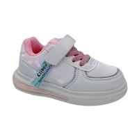 Кросівки для дівчинки CliBee E-82 white  (21-26р.)