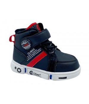 Демісезонні черевики для хлопчика CliBee H277 black (21-25р.)