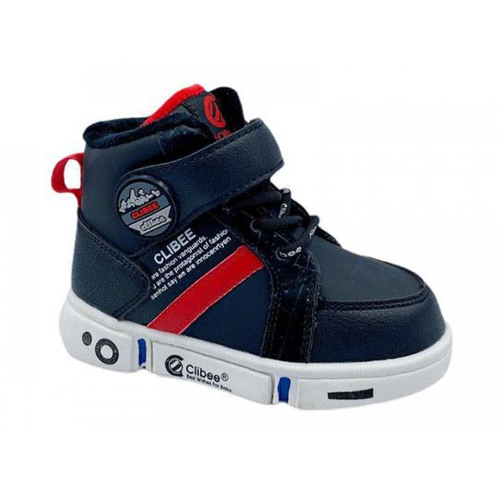 Купити демісезонні черевики для хлопчика CliBee H277 black