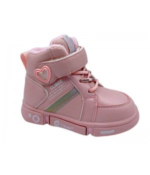 Демісезонні черевики для дівчинки CliBee H277 Pink (21-25р.)