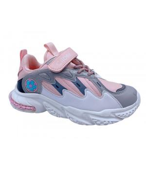 Кросівки для дівчинки CliBee L-254 silver (32-37р.)