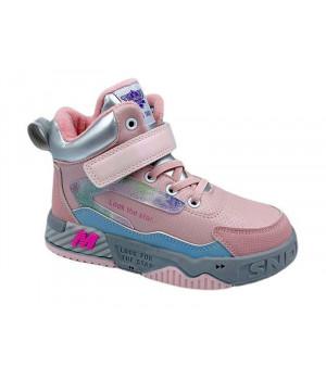 Демісезонні черевики для дівчинки CliBee P680 Pink (26-31р.)