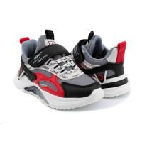 Кросівки для хлопчика CliBee L-228 grey-red  (26-31р.)