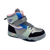 Демісезонні черевики для дівчинки CliBee P682 Gun (32-37р.)