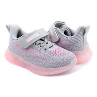 Кросівки для дівчинки CliBee F-12 grey-pink  (27-32р.)