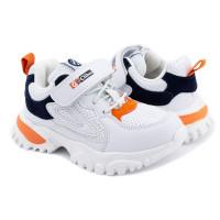 Кросівки для хлопчика CliBee F-2 white-d blue  (27-32р.)