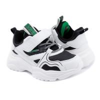 Кросівки для хлопчика CliBee F981 white-black  (27-32р.)