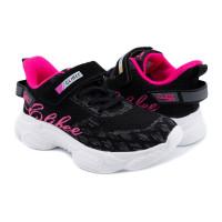 Кросівки для дівчинки CliBee F-9 black-peach  (32-37р.)