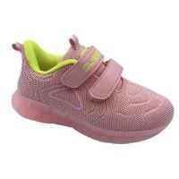 Кроссовки для девочки CliBee F-15 pink-yellow (26-31р.)