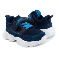 Кроссовки для мальчика CliBee F985 blue-acide blue (21-26р.)