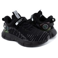 Кроссовки для мальчика CliBee F991 black-grey (32-37р.)