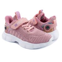 Кросівки для дівчинки CliBee F991 pink  (32-37р.)