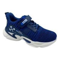 Кроссовки для мальчика CliBee F996 blue-blue (32-37р.)