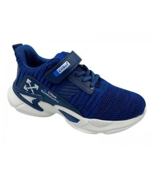 Кросівки для хлопчика CliBee F996 blue-blue  (32-37р.)