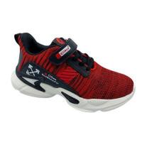 Кроссовки для мальчика CliBee F996 red-black (32-37р.)
