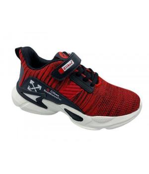 Кросівки для хлопчика CliBee F996 red-black  (32-37р.)