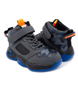 Демісезонні черевики для хлопчика CliBee L204 grey (32-37р.)