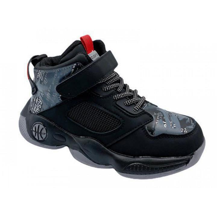 Купити демісезонні черевики для хлопчика CliBee L204 black
