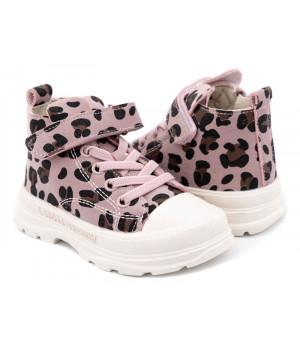 Демісезонні черевики для дівчинки CliBee P703 Pink (21-25р.)