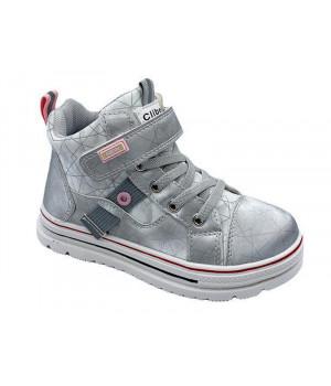 Демісезонні черевики для дівчинки CliBee P636 Silver (28-33р.)