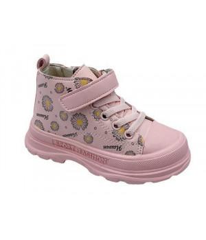 Демісезонні черевики для дівчинки CliBee P706 Pink (21-26р.)