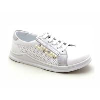 Кожаные кроссовки для девочки Krokky 13082012 (31-36р.)