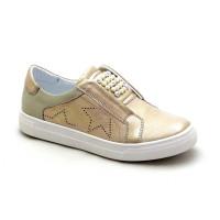 Кожаные кроссовки для девочки Krokky 13087022 (31-36р.)
