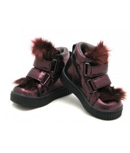 Демисезонные стильные ботиночки для девочки Krokky 12937-02 (21-25р.)
