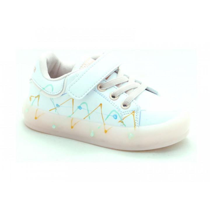 Купити дитячі кросівки на дівчинку Apawwa GQ57-pink LED