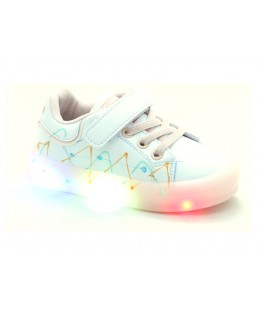 Кросівки для дівчат Apawwa GQ57-pink LED   (21-25р.)