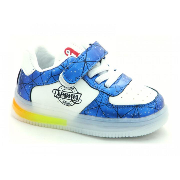 Купити дитячі кросівки  Apawwa GC61-navy LED