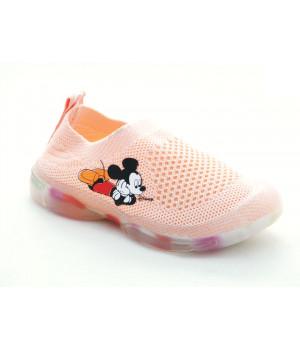 Кросівки сіточка для дівчинки Kimbo-o FL683-1F  (19-24р.)