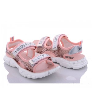 Босоніжки для дівчинки CliBee Z855-1 pink (32-37р.)