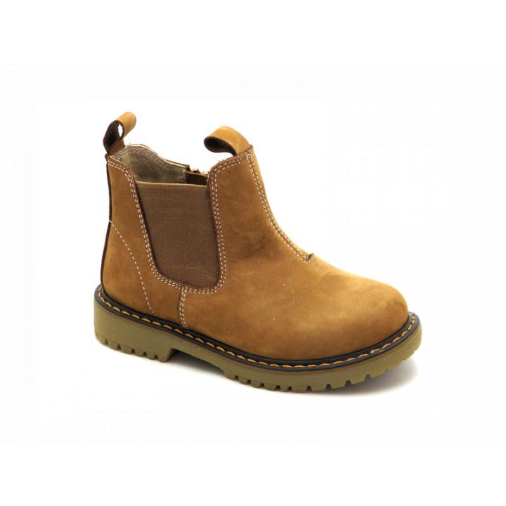 Демісезонні черевики челсі для дітей Miracle Me 5316 беж