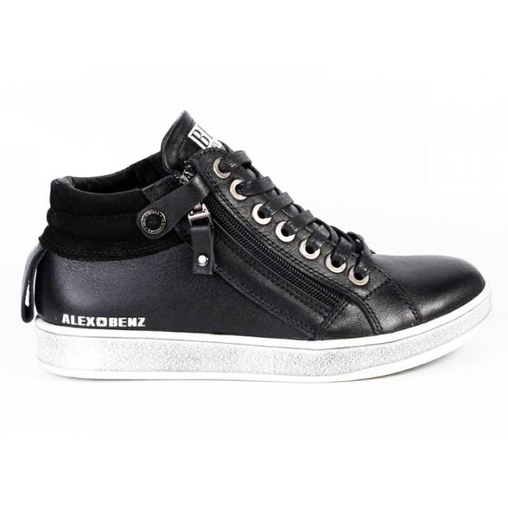 Шкіряні демісезонні черевики для хлопчика Alex Bens БГ41/2