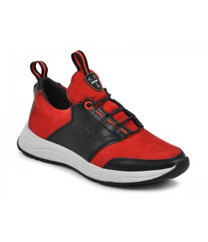 Стильні шкіряні кросівки для підлітків MAXUS 2136  (32-39р.)