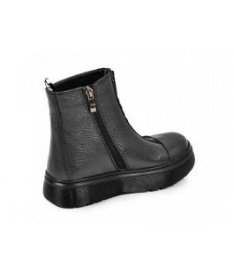 Стильні зимові черевики для дівчинки MAXUS 1903 графіт  (32-39р.)