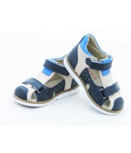 Шкіряні босоніжки для хлопчика Minno Kids Orthopedic 820 bez (21-25р.)