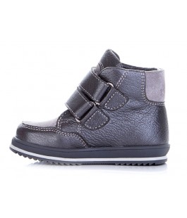 Демісезонні черевики для дівчинки Miracle Me 4516 срібло (25-33р.)