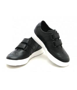 Туфлі шкільні для хлопчика Miracle Me 7005 чорний (29-36р.)