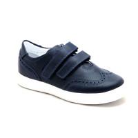 Туфлі шкільні для хлопчика Miracle Me 7005 синій (29-36р.)